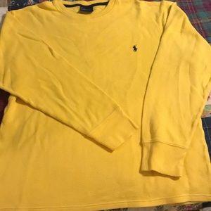 Polo Ralph Lauren thermal sleepwear shirt